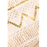Pouf carré en coton Yamil, image miniature 5