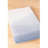 Pack de 4 assiettes rectangulaires (21x13 cm) Mar, image miniature 2