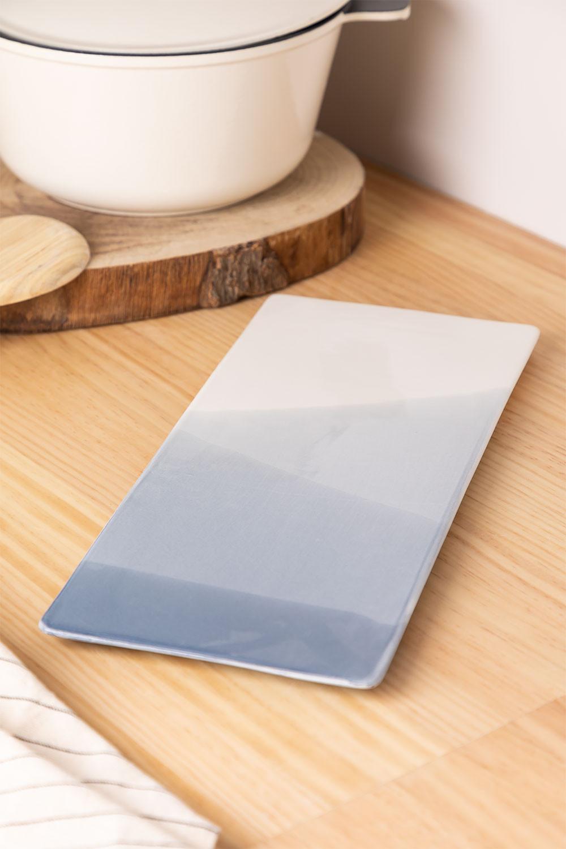 Pack de 4 assiettes rectangulaires (36x15 cm) Mar, image de la galerie 1