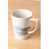 Pack de 4 mugs en porcelaine 320 ml Boira, image miniature 2