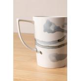 Pack de 4 mugs en porcelaine 320 ml Boira, image miniature 3