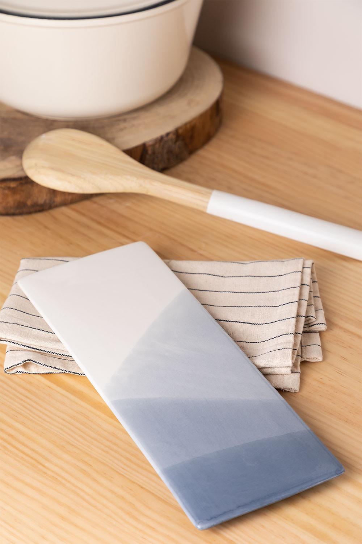 Pack de 4 assiettes rectangulaires (27,5x10 cm) Mar, image de la galerie 1