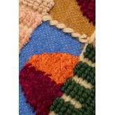 Housse de coussin en coton et jute Tauja, image miniature 4