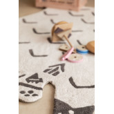 Tapis en coton (120x80 cm) Scubi Kids, image miniature 5