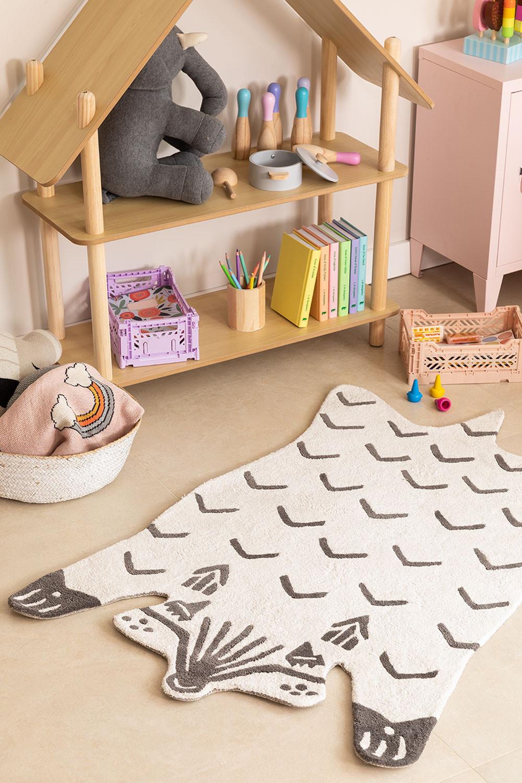 Tapis en coton (120x80 cm) Scubi Kids, image de la galerie 1