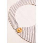 Bavoir rond en coton pour enfants Doty, image miniature 3