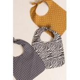 Bavoir en coton pour enfants Luzel, image miniature 5