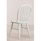 Chaise de salle à manger en bois Lorri Colors, image miniature 4
