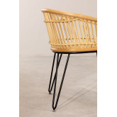 Chaise en rotin Zenta, image miniature 3