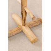Porte-manteau en bois de teck Narel, image miniature 5