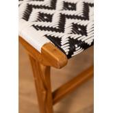 Chaise de jardin en bois de teck Vana, image miniature 5