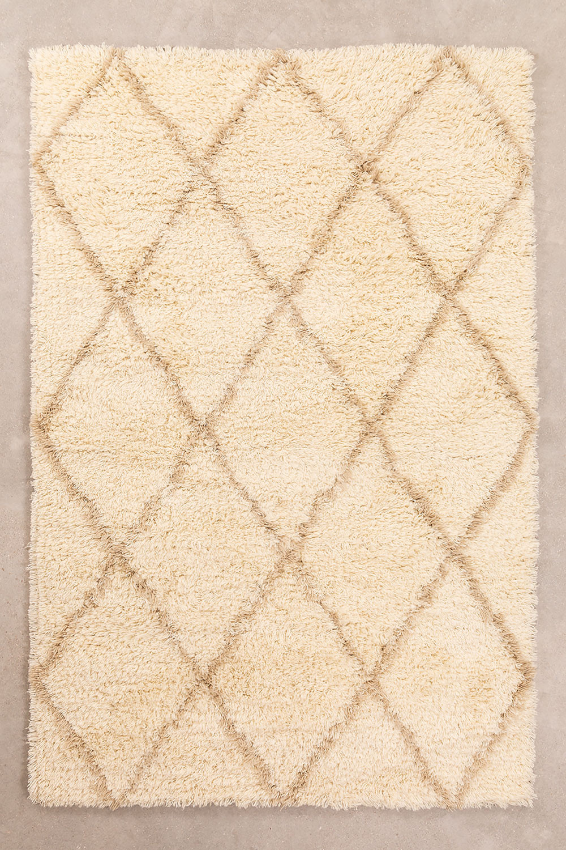 Tapis en coton et laine (235x155 cm) Kailin, image de la galerie 1