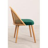 Chaise de salle à manger en bois Kloe, image miniature 3