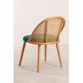 Chaise de salle à manger en bois Kloe, image miniature 4