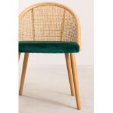 Chaise de salle à manger en bois Kloe, image miniature 5