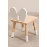Chaise en bois pour enfants Buny, image miniature 3