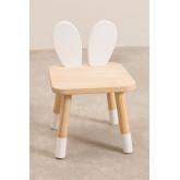 Chaise en bois pour enfants Buny, image miniature 4