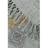 Couverture à carreaux en coton Karelis, image miniature 3