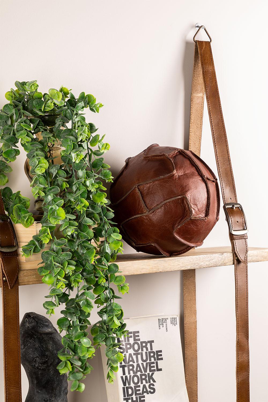 Boule décorative en cuir Greenby , image de la galerie 1
