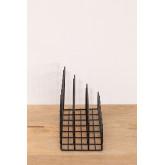 Porte-revues en métal avec compartiments Bok, image miniature 4