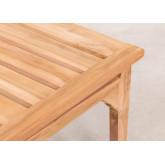 Table basse de jardin en bois de teck Adira, image miniature 5
