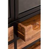 Vitrine en bois avec tiroirs Emberg , image miniature 4