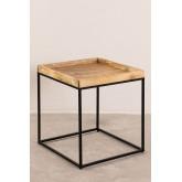 Tables gigognes en bois de manguier Tauber, image miniature 2