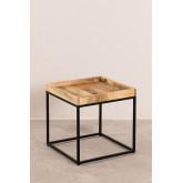 Tables gigognes en bois de manguier Tauber, image miniature 3