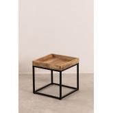 Tables gigognes en bois de manguier Tauber, image miniature 4