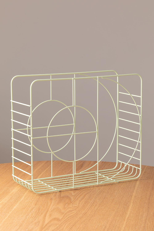 Porte-revues en acier Urial, image de la galerie 1