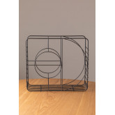 Porte-revues en acier Urial, image miniature 3