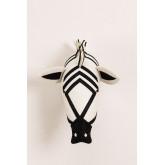 Tête d'animal Zebra Kids, image miniature 3