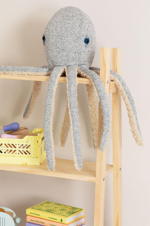 Pieuvre en peluche Suly Kids en coton, image de la galerie 1