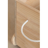 Chariot de rangement en bois pour enfants Madys, image miniature 6