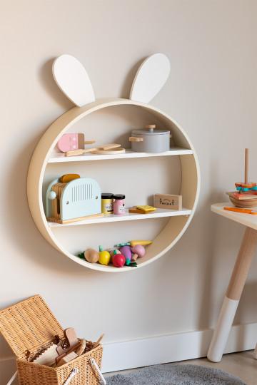 Bibliothèque en bois pour enfants Buny