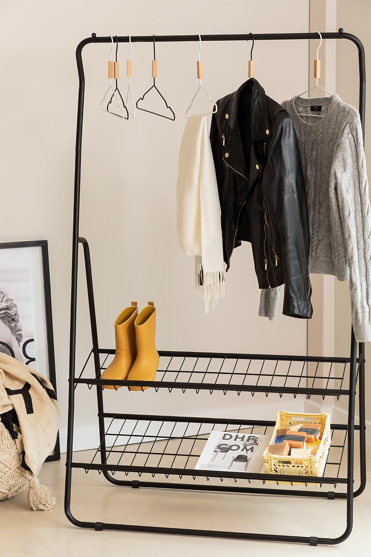 Porte-manteaux Range chaussures Safra , image de la galerie 1