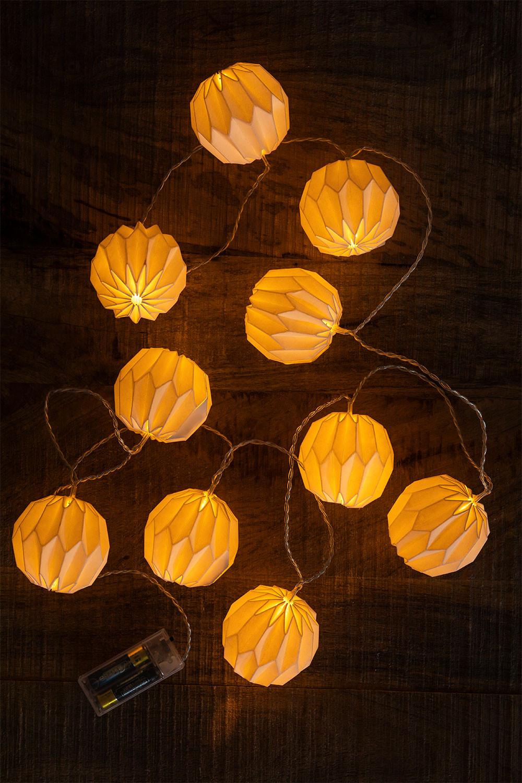 Guirlande lumineuse LED 165 cm Viela, image de la galerie 1