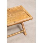 Table basse rectangulaire en bambou Samoa, image miniature 5