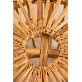 Tabouret décoratif en rotin Zierd, image miniature 4