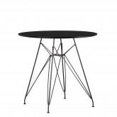 TABLE Scand Brich MDF Ø80, image miniature 1