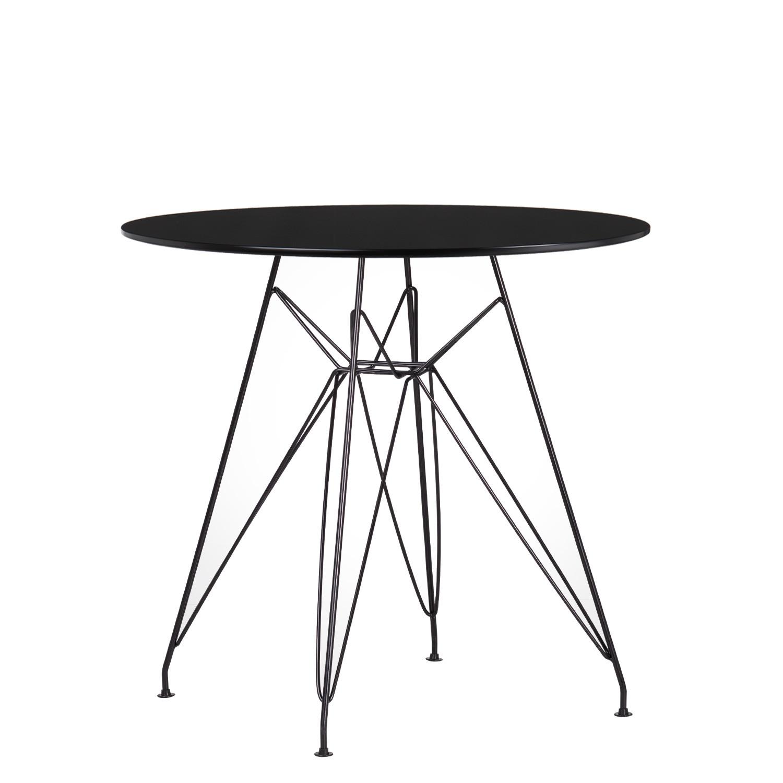 TABLE Scand Brich MDF Ø80, image de la galerie 1