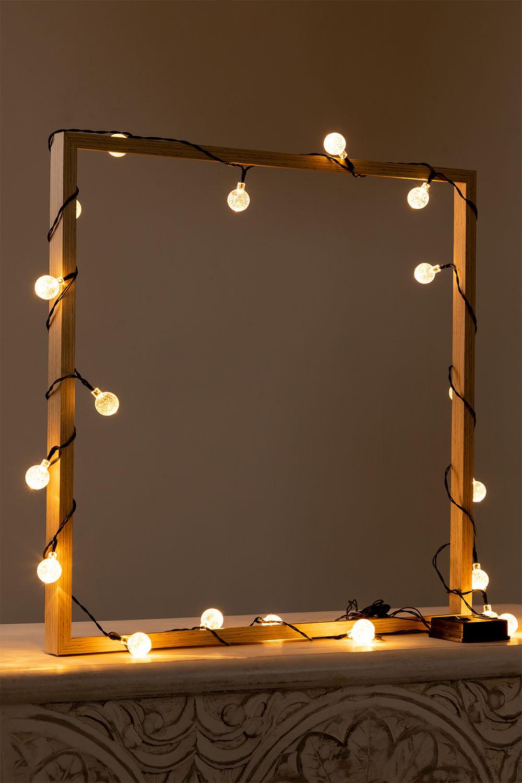 Guirlande LED avec chargeur solaire (5 m et 7 m) Pepo , image de la galerie 1