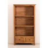Lot de 2 bibliothèques en bois recyclé Jara, image miniature 3