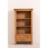 Lot de 2 bibliothèques en bois recyclé Jara, image miniature 4