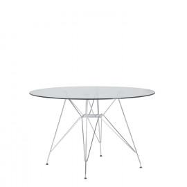 TABLE IMS EIFFEL Ø120 MÉTALLISÉE