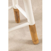 Tabouret bas en bambou Dipeado Warpol, image miniature 5