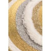 Coussin avec broderie en coton (45x45 cm) Cova, image miniature 3
