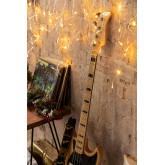 Rideau avec lumières LED (2 m) Jill Warm Light, image miniature 1