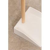 Balai et pelle en bois pour enfants Edin, image miniature 5