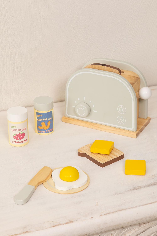 Grille-pain en bois pour enfants Buter, image de la galerie 1